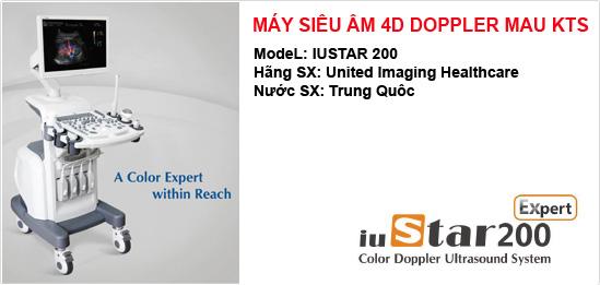 Máy siêu âm 4D Doppler màu KTS